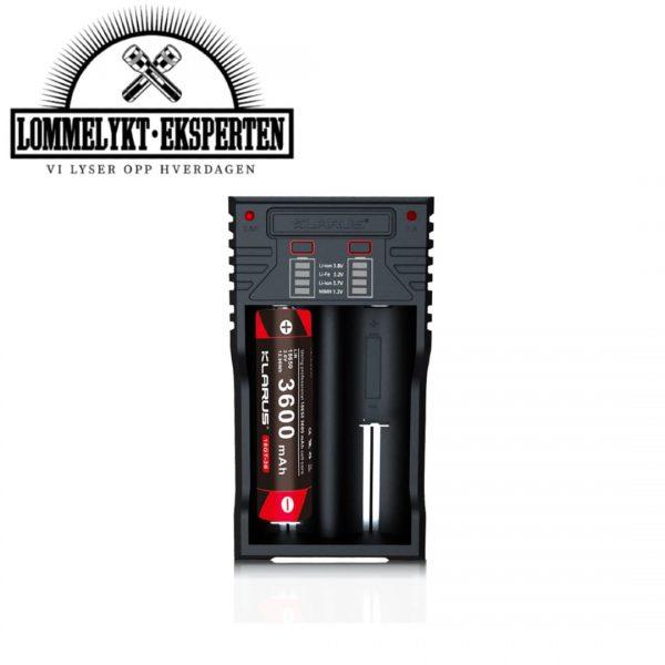 Klarus batterilader