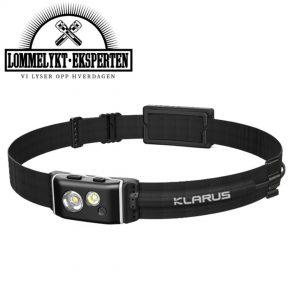Klarus LED hodelykt HR1+, 600 lumen